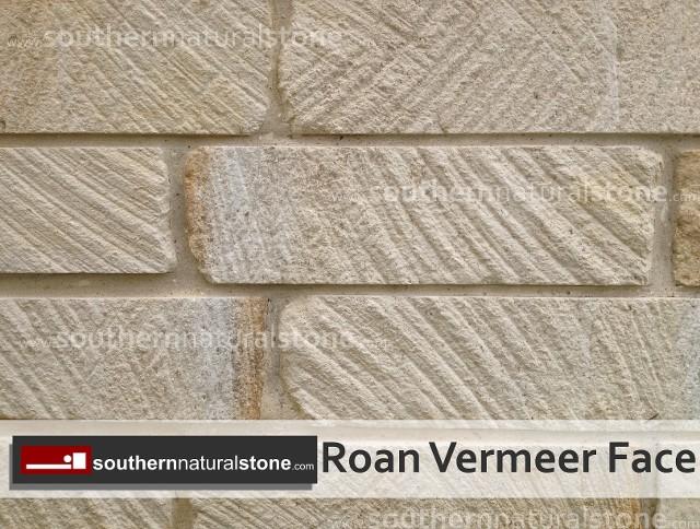 Anchored Veneer Saw Cut Stone Natural Sandstone