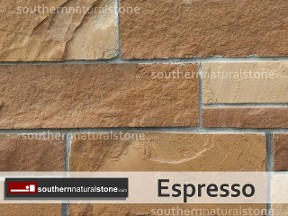 Espresso Natural Stone, Chopped Builder, Southern Stone, Donna, Texas