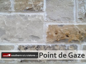 grey texas limestone, point de gaze, southern stone