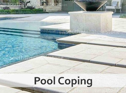 Stone Water Features | Natural Stone Swimming Pool | Coping ...