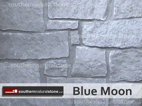 Thin Veneer Chopped Natural Stone, Blue Moon Stone